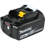 Makita BL1850B 18V LXT 5.0 Ah Li-Ion Rechargeable Battery