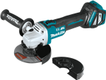 "Makita XAG17ZU  18V LXT® Lithium‑Ion Brushless Cordless 4‑1/2"" / 5"" Cut‑Off/Angle Grinder, with Electric Brake and AWS™"