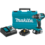 "Makita XFD12R 18V LXT® Lithium‑Ion Compact Brushless Cordless 1/2"" Driver‑Drill Kit (2.0Ah)"