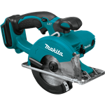 "Makita XSC01Z 18V LXT® Lithium‑Ion Cordless 5‑3/8"" Metal Cutting Saw, Tool Only"