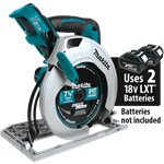"Makita XSH01Z 18V X2 LXT® Lithium‑Ion (36V) Cordless 7‑1/4"" Circular Saw, Tool Only"