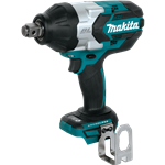 Makita XWT07Z LXT Lithium-Ion Brushless Cordless High Torque Square Drive Impact Wrench, 18V/3/4""