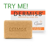 Mini's Dermis8° 25 grams exfoliating bar soap