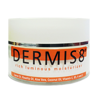 Dermis8° Rich Luminous Rosehip Moisturizer 3 oz