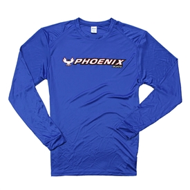 Jasper LS Performance Tee - Royal