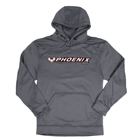 Wicking Fleece Hoodie - Graphite