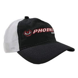 Phoenix Soft Mesh Back Cap - Black / White