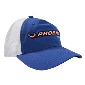 Phoenix Soft Mesh Back Cap - Royal / White