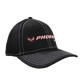 Phoenix New Era Stretch Mesh Cap - Black - S / M