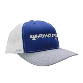 Richardson Trucker Cap - Royal / Grey / White