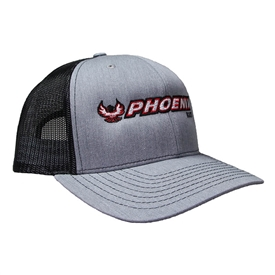 Richardson Trucker Cap - Heather Grey / Black