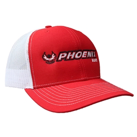 Richardson Trucker Cap - Red / White