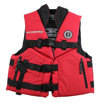 Mustang ACCEL100 Fishing Vest - Red