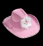 PINK GIRLS NIGHT OUT COWBOY HAT