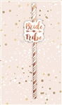 Bride Tribe Straws