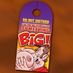 SOMETHING BIG DOOR HANGER