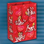BOINKING WITH HEARTS GIFT BAG