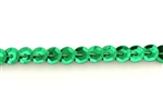 Sequin Trim, 5MM, Vintage, Round, Cupped, Green