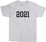 2021 T-Shirt - College, Varsity, Various Colours S-XXL, Personalised Custom Print, New Year, Varsity, College, University,