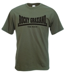 "Rocky Graziano ""The Rock"" - T-Shirt, Boxing Legendary Welter/Middleweight, Champ"