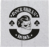 """Rockabilly Rebel"" Greaser Skull T-Shirt - Rock'n'Roll All Sizes & Colours"
