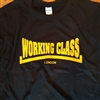 Working Class Logo T-Shirt - Customise The Town Name, Retro, Punk, Various Colours, Skinhead, Mod, Sub Culture, British, Retro, Tshirt Top, Custom, Personalise,