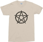 Pentagram T-Shirt - Gothic, Witch, Magic, Pagan, Wicca Various Colours, Witchcraft, Retro 70s style tshirt top