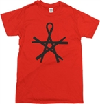 Pentagram Of Wands T-Shirt - Goth, Magic, Wicca, Various Colours