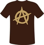 Anarchy Symbol T-Shirt Various Colours, Punk Rock, Political, All Sizes