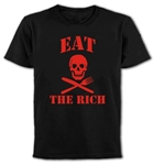 """Eat The Rich"" T-Shirt - Protest, Anarchy, Political, Punk, All Sizes & Colours"