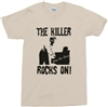 "Jerry Lee Lewis ""The Killer Rocks On!""- T-Shirt, Rock'n'Roll Legend, Punk, 1950's, 50's, Retro, Rock, Tshirt, Top, Rockabilly"