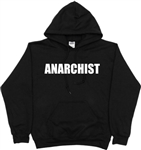 Anarchist Hoodie - Anarchy, Sweatshirt, Also In Grey, S-XXL, Punk
