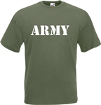 Army T-Shirt - Military, Various Sizes