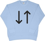 Arrows Sweatshirt - Retro, Mod Style, 1960's, S-XXL, As Worn By Paul Weller, Mods, Counter Culture, Carnaby