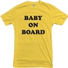 'Baby On Board' Unisex Fit T-Shirt - Maternity, Pregnant, S-XXL, Various Colours, Retro Font, VintageStyle, Hipster Mummy, Tshirt Top