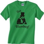 Bah Humbug Scrooge T-Shirt - Retro Christmas, Various Colours, S-XXL