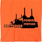 Battersea Power Station Souvenir T-Shirt - London, Pink Floyd, Various Colours, Gift, Quirky, Different, Craft, Tshirt Top, Bohemian, Iconic Building