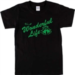 It's A Wonderful Life 'Bells' T-Shirt - Christmas, Various Colours S-XXL