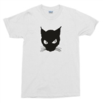 The Black Cat T-Shirt - Retro Horror, 1930's, Boris Karloff, Béla Lugosi, S-XXL, Cult, Tshirt Top
