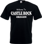 Welcome to Castle Rock T-Shirt - Stand By Me Inspired, Various Colours, Stephen King, IT