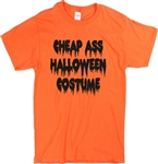 Cheap Ass Halloween Costume T-Shirt - Unisex, Horror, Various Colours, S-XXL, Gothic, Goth, Retro, 60's, 70's, Vintage Style Tshirt Top,