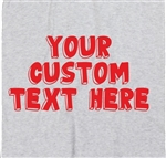 Personalised Custom Printed T-Shirt - 3D Font, TShirt, Various Cols S-XXL, Art, Gift, Customised, Hipster, Tshirt Top