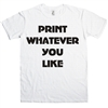 Personalised Custom London Tshirt Printing Company customised print printed DTG vinyl T-shirt printers Printer