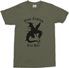 Personalised Custom Printed Dragon T-Shirt - Medieval Fantasy, Various Colours, Add Text, Vintage Style Tshirt, Top