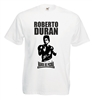 "Roberto Duran ""Hands Of Stone"" T-Shirt, Boxing Champion - All Colours & Sizes"