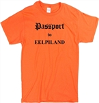 Passport To Eelpiland T-shirt - Eel Pie Island Legendary Venue, VariousSizes/Colours, 1960's, retro, Stones, Blues, Rock n roll, London, Counter Culture, hippie, Mod, Hipster, VIntage Style