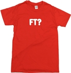 FT? Personalised Custom Printed Letter T-Shirt - Football, Hooligan, VariousCols, Tshirt top, Ultras, Fuck The, F The, FTM