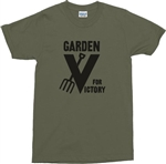Gardening T-Shirt - Retro War Time, 'Garden For Victory' Various Colour TShirts, Outdoors, Plants, WW2 Top