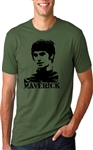 George Best 'Maverick' T-Shirt - Football Legend, Various Sizes/Colours