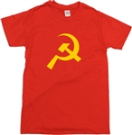Hammer And Sickle Symbol T-Shirt - Solidarity, Russian, Communist, Retro, S-XXL, Soviet tshirt top, Vintage Style
